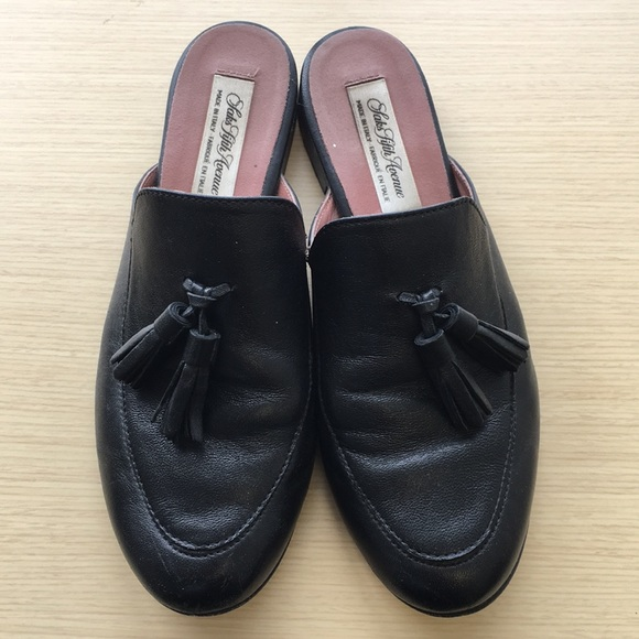 f56c4a09b Saks Fifth Avenue Shoes   Made In Italy Leather Slides   Poshmark